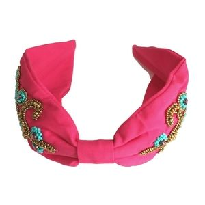 Accessories - Top Knot Embellished Headband